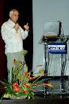 Fotos do I Simpósio Goiano de Psicologia Transpessoal, realizado em 2005 na Faculdade Cambury