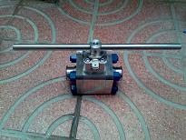 Duplex valve for corrosive, seawater application