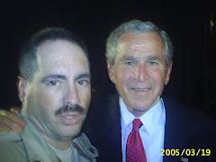 President G.W. Bush & Me