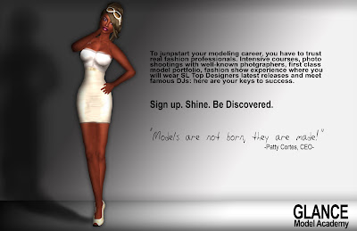 Second Life Fashion Model Academy