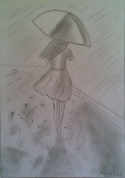 xoxo, AeChi ♥: Walking In The Rain..ALONE...