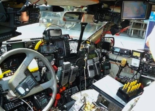 Locked My Keys In The Car >> Ote and note: Ham radio Whacker's car
