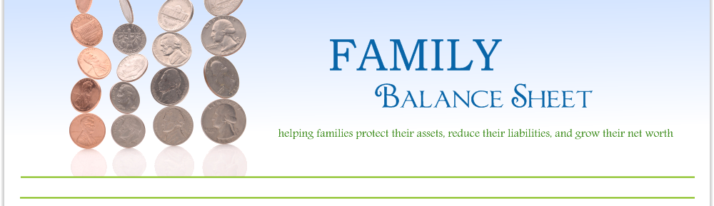 Family Balance Family Balance Sheet'