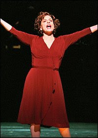 Curtain up! Patti Lupone's Rose is a work of art.