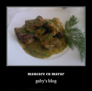 Articole culinare : mancare cu marar