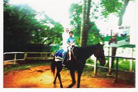 Naik kuda ngan cak...