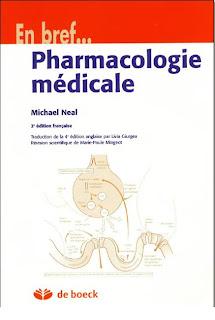 livres de pharmacologie pr les etudiants en pharmacie Pharmaco+m%C3%A9dicale