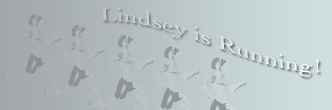 Lindsey is Running!