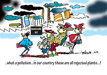 harini,cartoon published in daijiworld.com