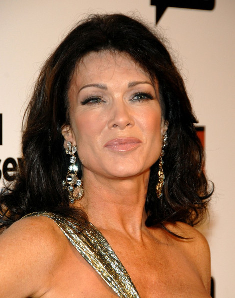 Lisa Vanderpump Dangling Crystal Earrings