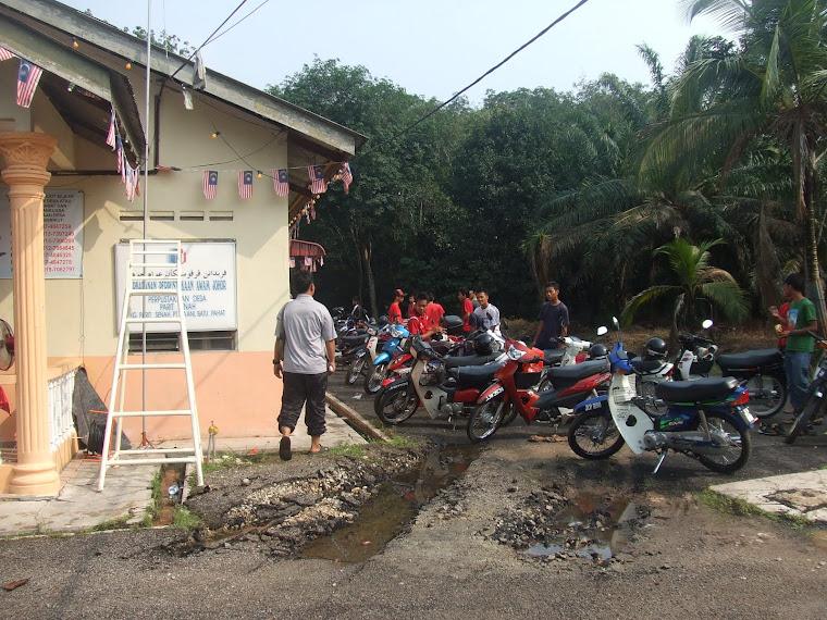 Suasana Perpustakaan Desa