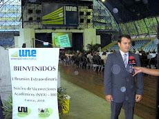 Dr Nicolas Mangieri Presidente de la Universidad Nueva Esparta