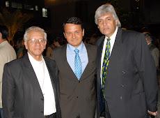 Monseñor Nicolás Bermudez, Dr. Nicolás Mangieri y Juan Miguel Avalos