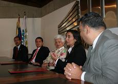 Firma del convenio SAP Universidad Nueva Esparta