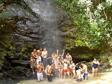 Cascada en la Hacienda La Trinidad Guiripa de San Casimiro