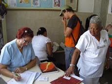 Rotundo exito Operativo de vacunación contra la Fiebre Amarilla, y Segunda dosis Hepatitis B en UNE
