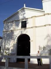 Iglesia Santa Rosalía de Palermo, todo listo para la Semana Santa en pueblo de El Hatillo
