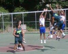 Equipo de Volleyball de la Universidad Nueva Esparta triunfo ante la Universidad Metropolitana