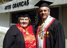 Alcaldesa Myriam Do Nascimento y Juan Miguel Avalos