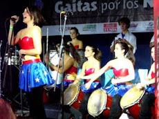 En la UNE se efectuó el tradicional festival intercolegial de gaitas