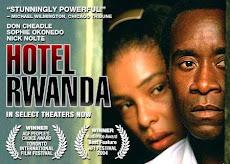 La Guerra, Cineforo en COSMOVISION Hotel Ruanda, mas de 800.00 muertos