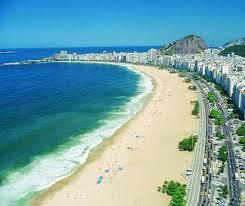 La famosa Playa de Copacabana