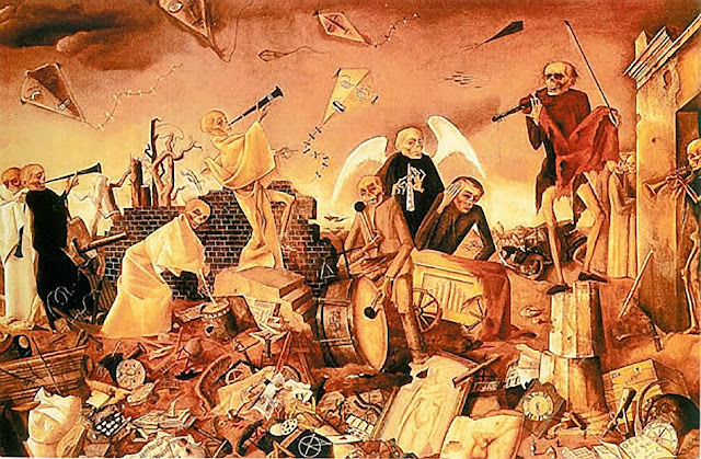 Felix Nussbaum Skeletten 1944 El  pintor del terror nazi
