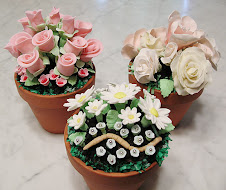 Flower Pot Cake Assort.
