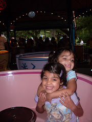 The girls on the teacups