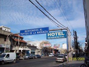 Av. Mosconi y Quintana - Bienvenidos al Partido de La Matanza