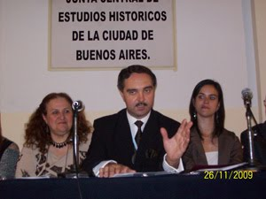 Arnaldo Ignacio Adolfo Miranda - Historiador - Ciudad de Buenos Aires