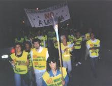 Marcha contra la minería en capilla del Monte