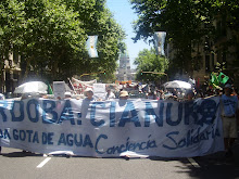 Marcha contra el saque y la contaminacin