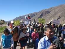marcha en Juella Jujuy