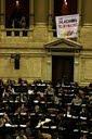 Conciencia Solidaria en la sesión por la Ley de Protección de glaciares
