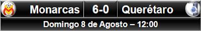 Monarcas Morelia 6-0 Querétaro