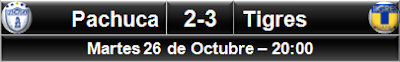 Pachuca 2-3 Tigres