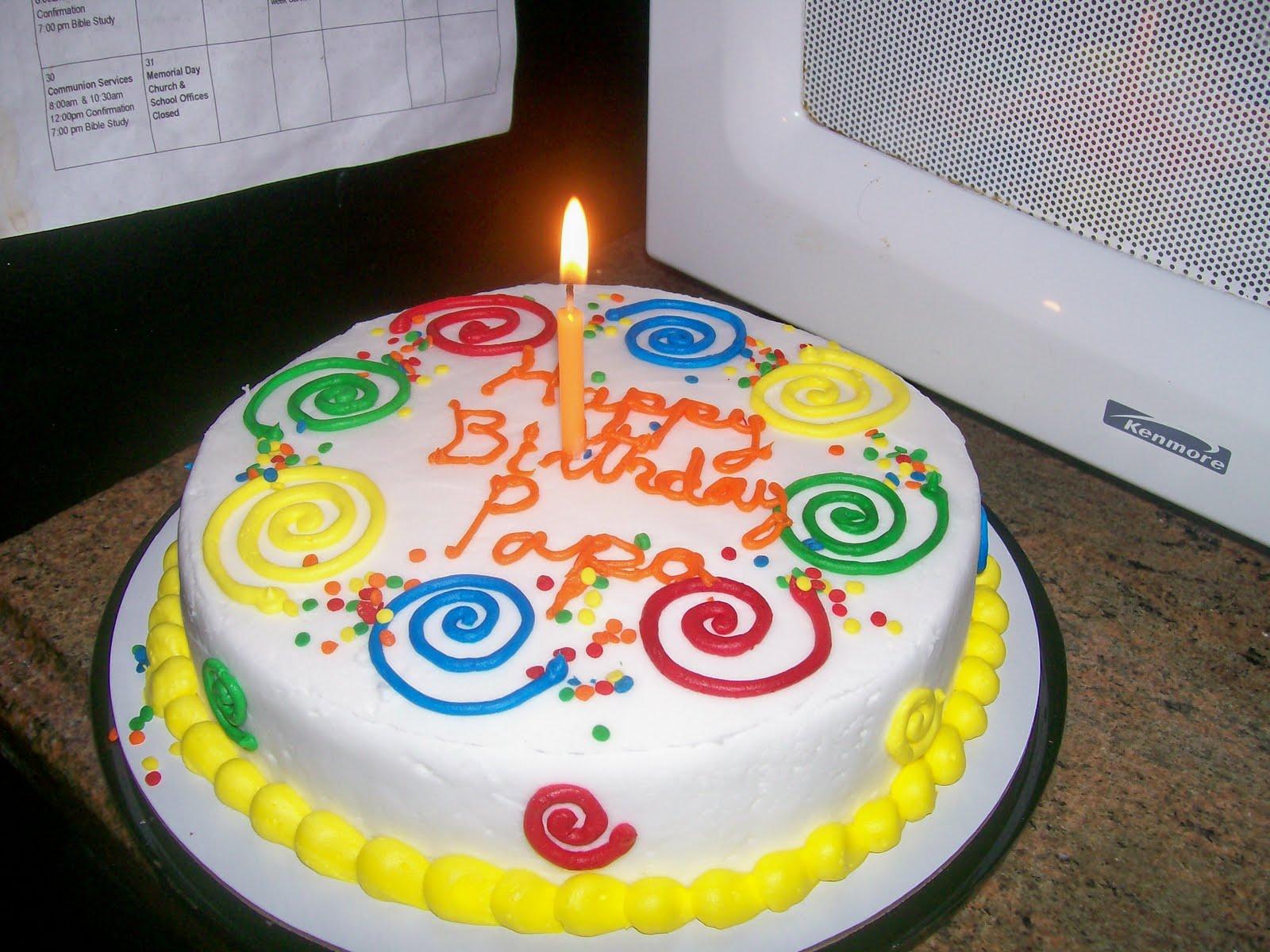 Images Of Papa Birthday Cake : Birthday wishes 4 papa