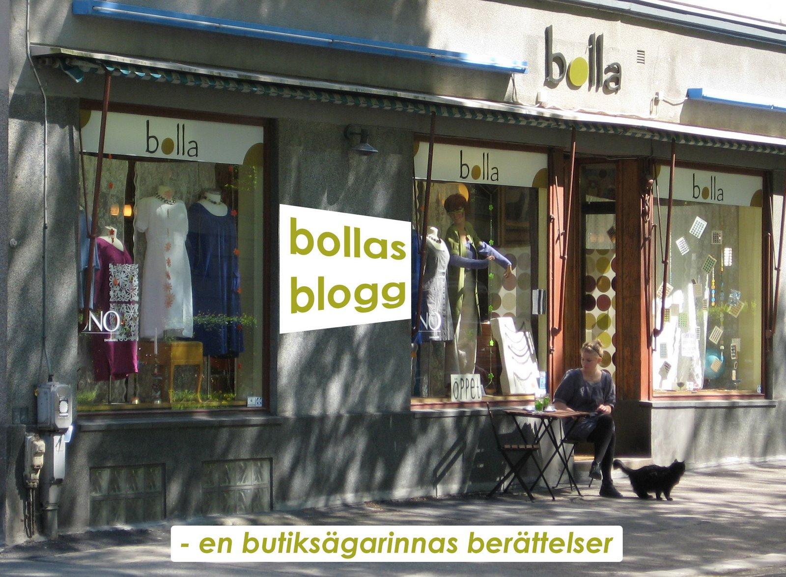 Butik Bolla bloggar