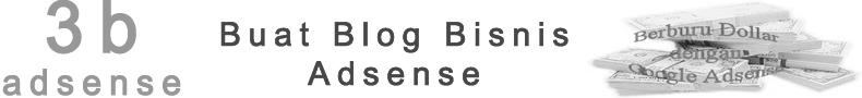 Buat Blog Bisnis Adsense