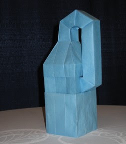 Lang Later Made Available The Crease Pattern That He Used To Create His Paper Klein Bottle Displayed And Various Other Objects At
