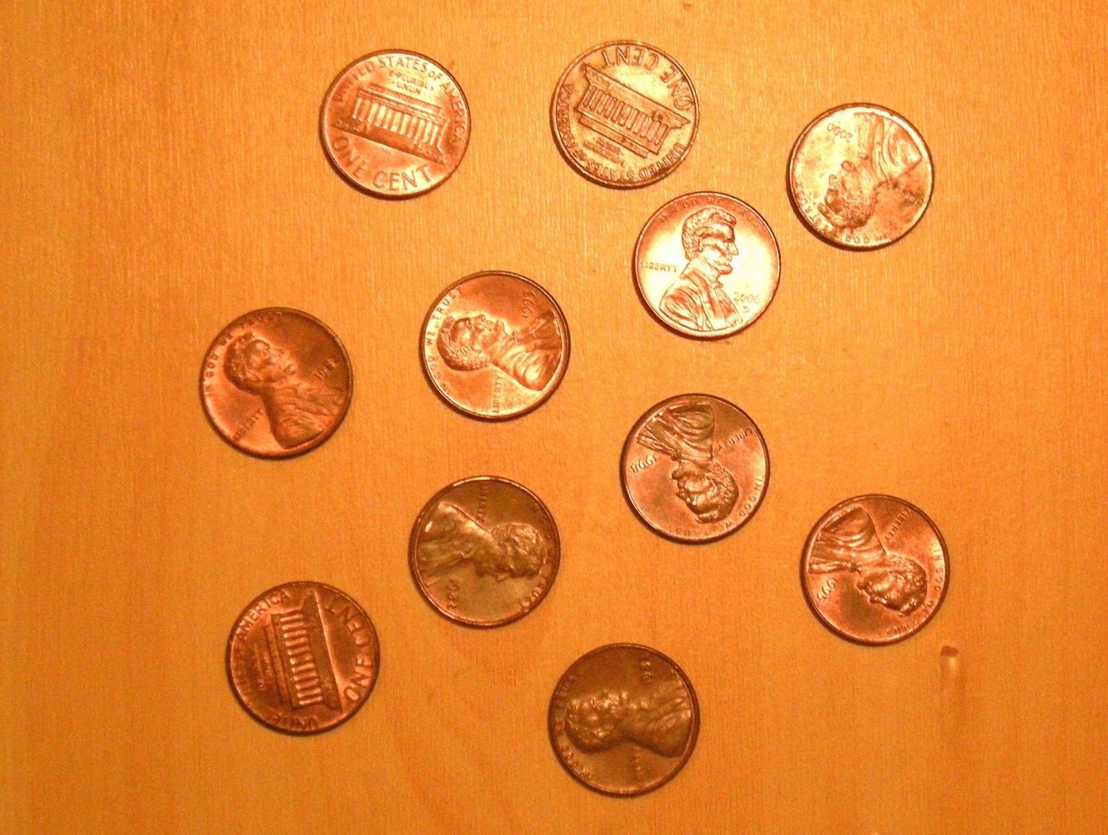 percentage of times the coin comes up heads