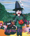Símbolo do Halloween QUILLING 3D