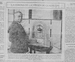 LA CORONA DE LA VIRGEN Y SU ORFEBRE