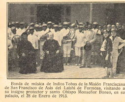MONS. BONEO Y BANDA DE MIUSICA TOBAS DE LA REDUCCION DE LAISHI