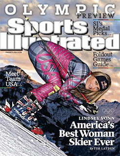 Sexy Lindsey Vonn Sport's Illustrated cover