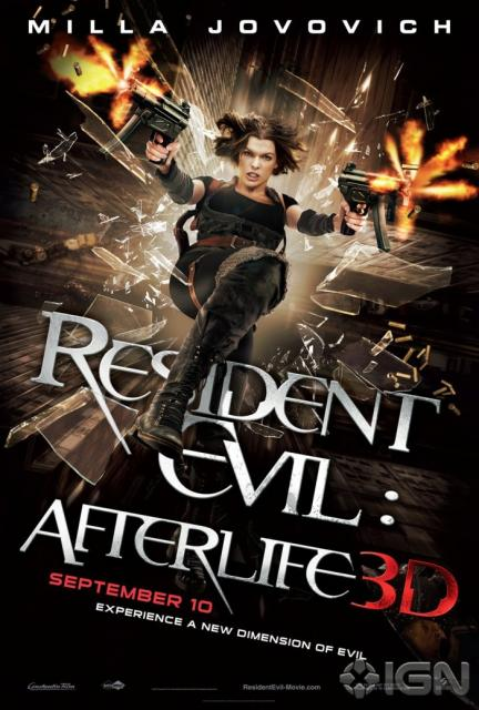 Milla Jovovitch in Resident Evil:Afterlife