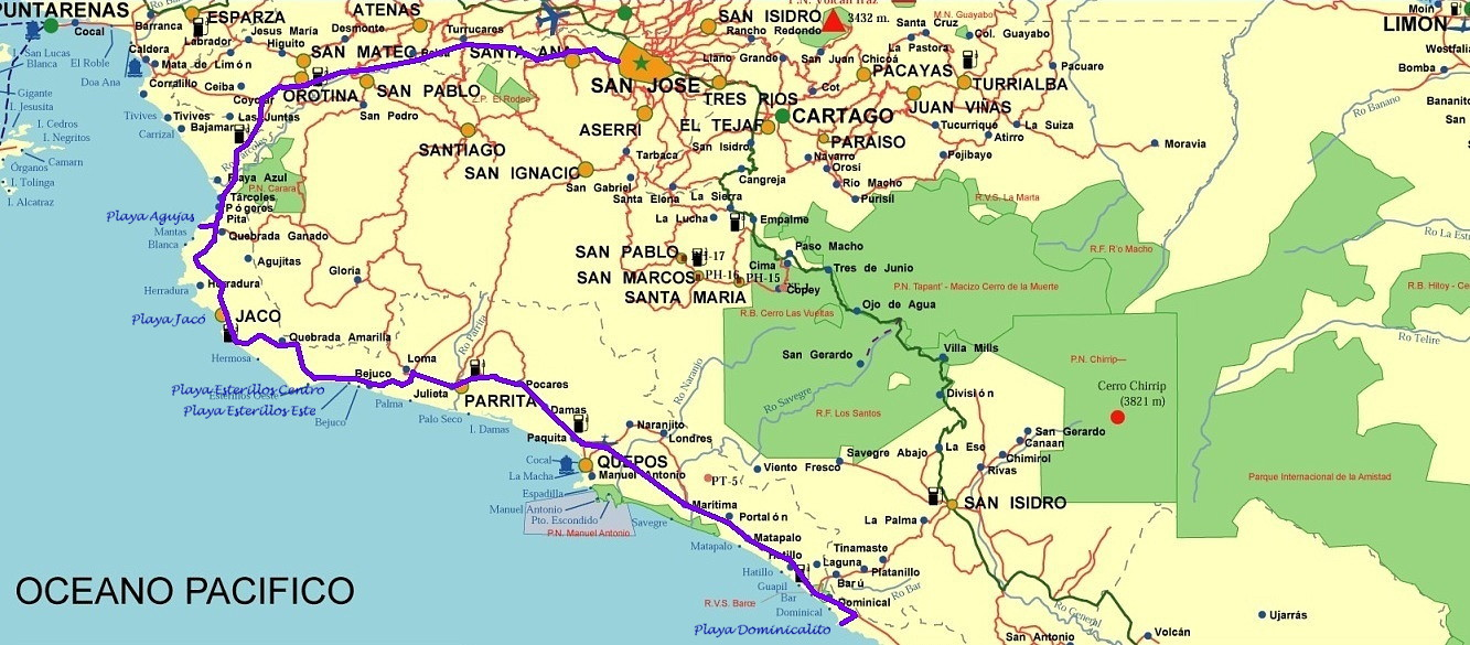 playa jaco costa rica map with 2010 Playa Agujas on Isla Del Ca c3 b1o also Costa Rica moreover Gold mines abangares tour rates additionally Tango Mar Resort besides Our Weather In San Ramon De Alajuela Costa Rica 2012.