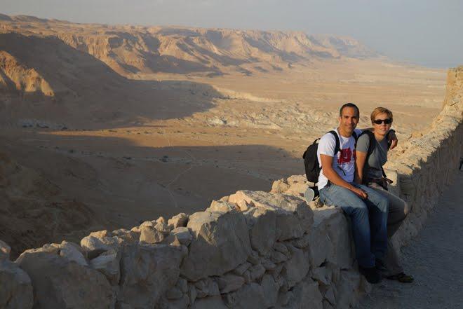 Desde la fortaleza de Masada