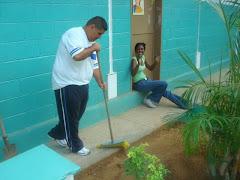 limpieza de areas verdes
